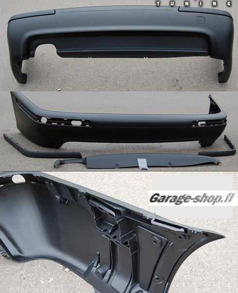 Rear bumper bmw e39 sedan Abs